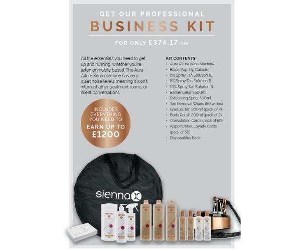 Sienna X Business Tan Kit