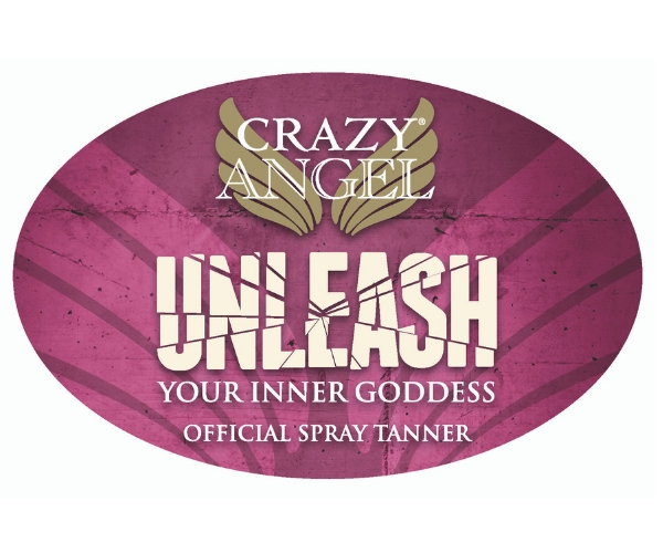 Crazy Angel Window Sticker