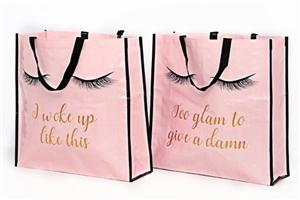 Cute Lash Design Shopping Bag