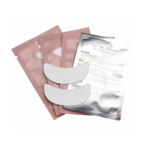 Boat Shape Under Eye Pads with Slits- 25/50/100 Pairs