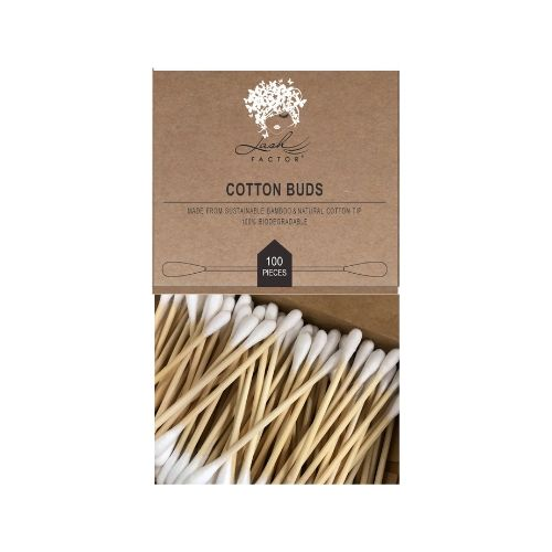 Eco Friendly Bamboo Cotton Buds – Pack of 100