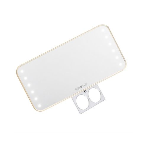 Glamcor Riki Cutie- Portable Mirror with Daylight Lamps