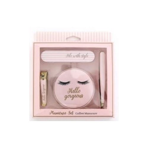 Cute Lash Manicure Set