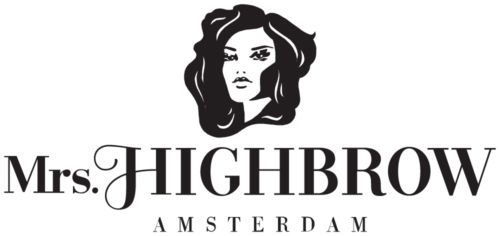 Stockists of Mrs high brow logo