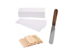 Spatulas, Strips & Waxing Accessories